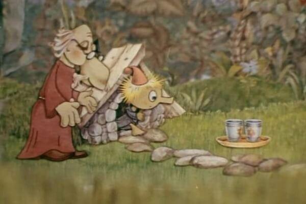 Советские мультфильмы про приключения Муми-троллей