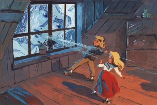 Лучшие советские мультфильмы про зиму - «Снежная королева» (1957)