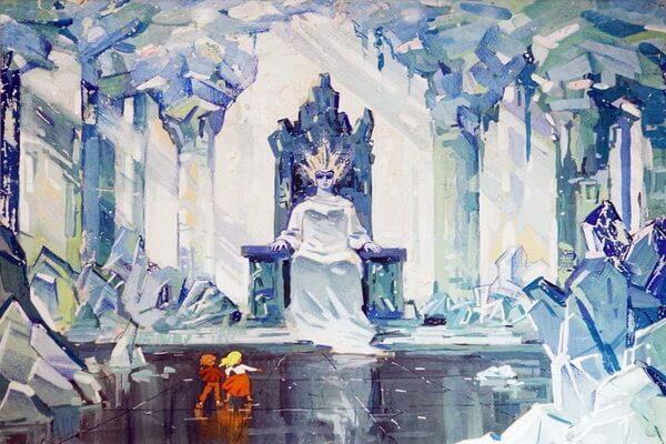 Советские мультфильмы про зиму - «Снежная королева» (1957)
