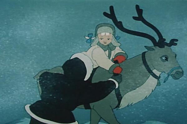 Советские мультфильмы про зиму - «Сармико» (1952)