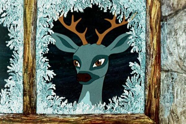 Лучшие советские мультфильмы про зиму - «Серебряное копытце» (1977)