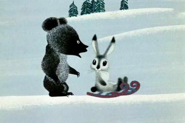 Лучшие советские мультфильмы про зиму - «Топтыжка» (1964)