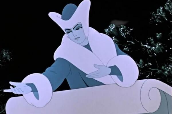 Образ Снежной Королевы из советского мультфильма 1957 года
