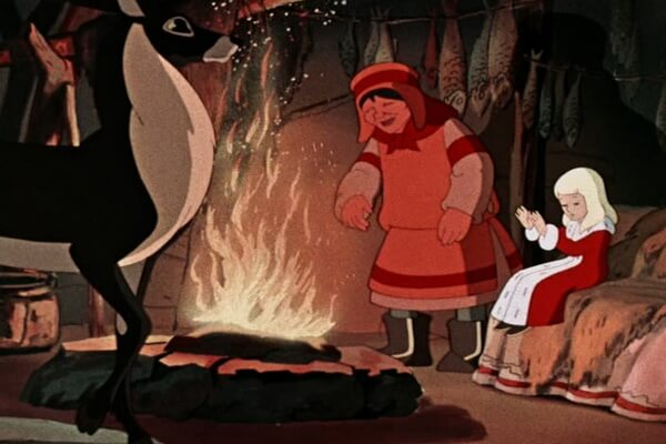 Актёры, которые озвучивали персонажей советского мультфильма «Снежная королева» (1957)
