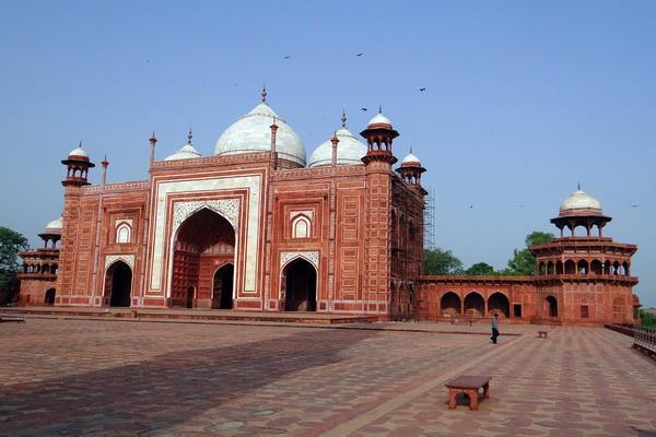 Дворец Тадж-Махал в Индии