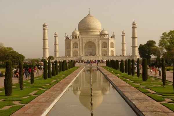 Тажд-Махал - архитектурный шедевр
