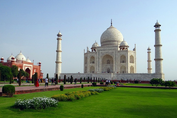 Индийский дворец Тадж-Махал - история создания