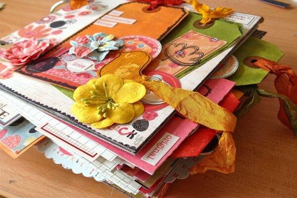 Творческие блокноты и их виды - Смэшбук