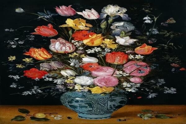 Тюльпаны в живописи - Ян Брейгель Старший, «Натюрморт»