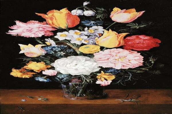 Тюльпаны в живописи известных художников - Ян Брейгель Старший - «Натюрморт»