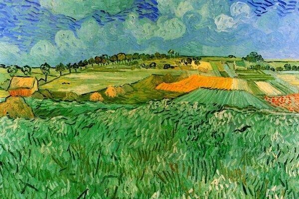 Тюльпаны в живописи - Винсент Ван Гог - «Поля тюльпанов»