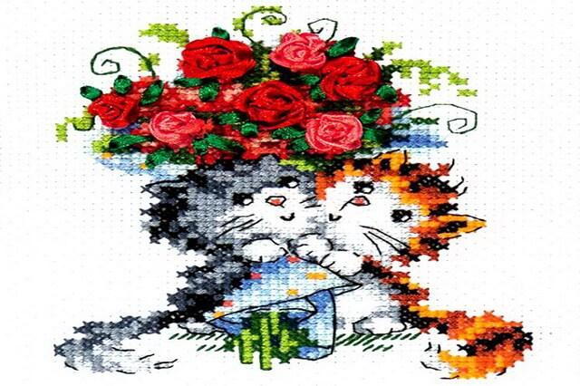 Вышивка для привлечения любви - основные тематики картинок
