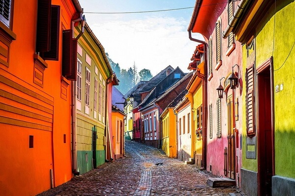 Живописные города Трансильвании - Сигишоара