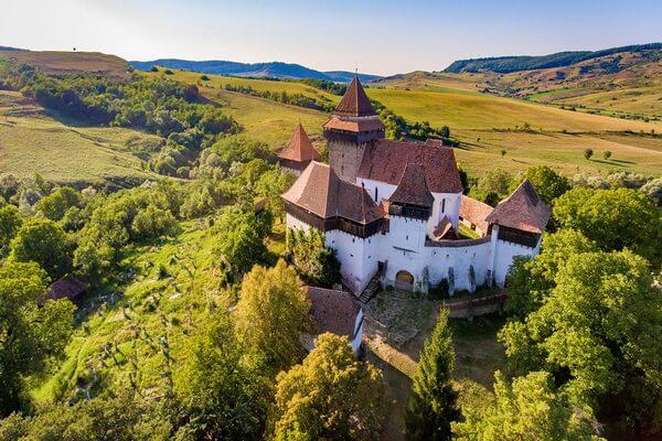 Достопримечательности Трансильвании - Деревни с церквями-форпостами