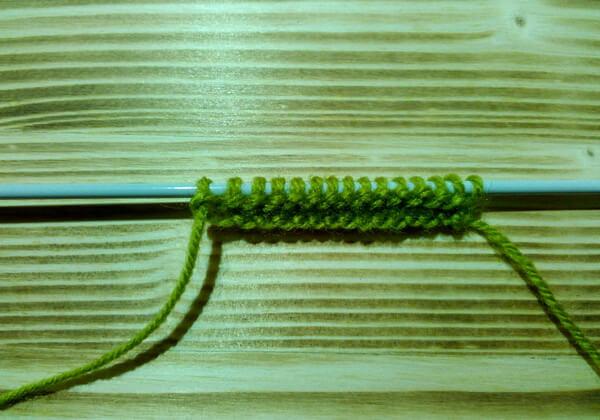 Вязаная подставка под кружку пошагово - шаг 2