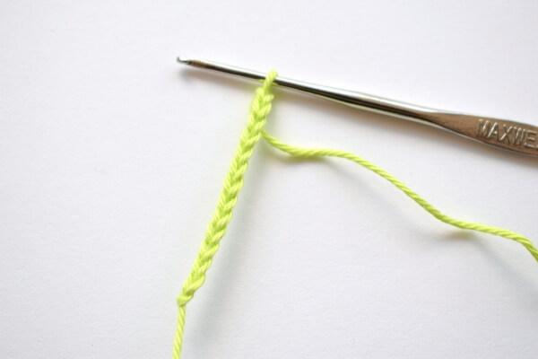 Вязаная репка - как связать листочки