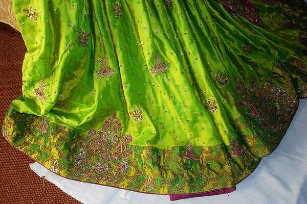 История индийской вышивки зардози