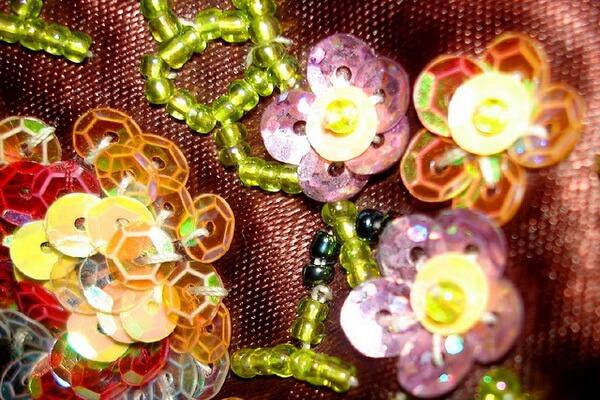 Индийская вышивка зардози - красивые фото