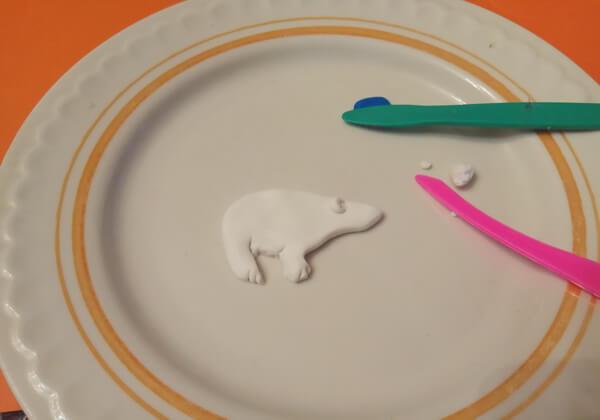 Как сделать брошь из полимерной глины - шаг 4